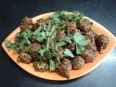 Recipe How to make Sorakaya Manchuria