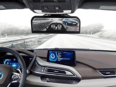 कार में स्क्रीन पर विडियो स्ट्रीमिंग