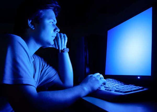 side effect of blue light