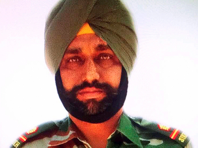 1 मई को पुंछ में शहीद हुए थे परमजीत सिंह