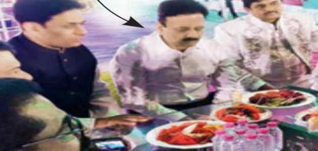 दाऊद की भतीजी की शादी में मंत्री समेत कई पुलिस अधिकारी हुए शामिल