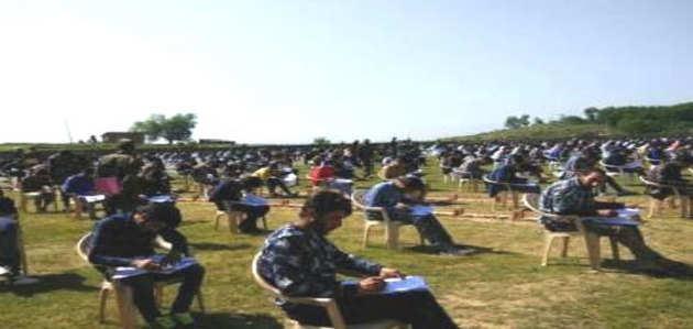 आर्मी की परीक्षा में सैकड़ों कश्मीरी युवकों ने लिया हिस्सा, अलगाववादियों के बंद का नहीं कोई असर