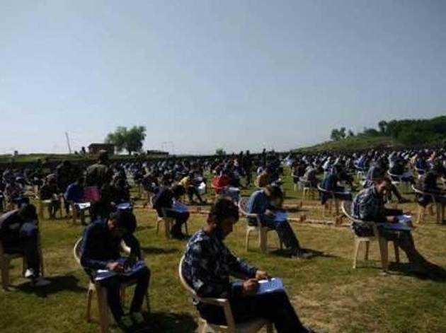 सेना भर्ती परीक्षा में करीब 800 कश्मीरी युवाओं ने लिया हिस्सा