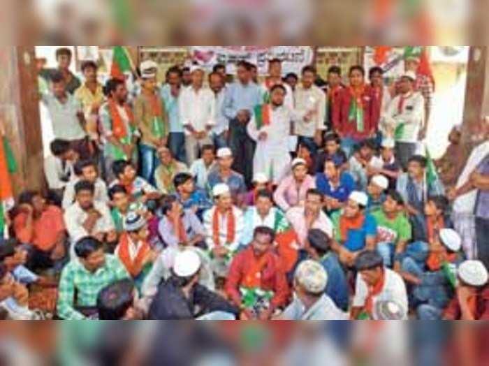ಮಾಂಸಕ್ಕಾಗಿ ಗೋ ಮಾರಾಟ ನಿರ್ಬಂಧ ಕೇಂದ್ರದ ವಿರುದ್ಧ ಎಸ್ಡಿಪಿಐ ಪ್ರತಿಭಟನೆ