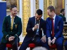 virat kohli attends opening dinner with other captains