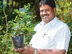 this coimbatore bus conductor plants 38000 trees