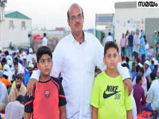 a malayali boy who serves food in sharjah labour camp