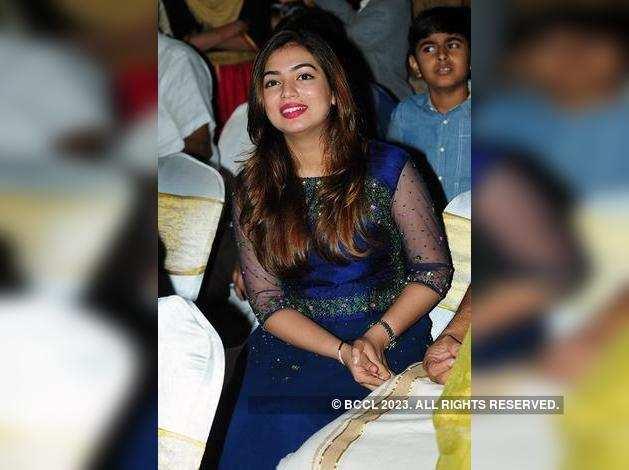 Nazriya Nazim attends the gala wedding ceremony
