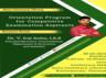 orientation program for competitive exams aspirants by dr v irai anbu ias