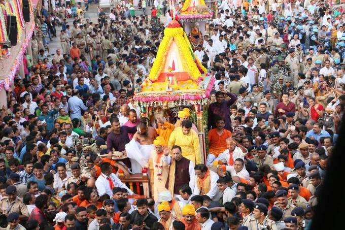பூரி ஜெகந்நாதரின் 'ரதஜாத்ரா' திருவிழா!