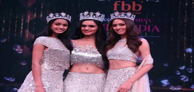 देखें, fbb कलर्स फेमिना मिस इंडिया 2017 के क्राउनिंग पल