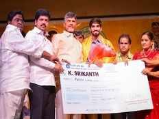 ap government raining rewards for kidambi srikanth
