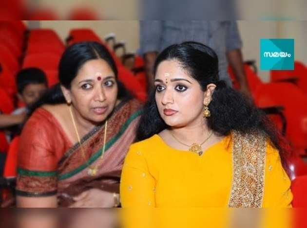 Kavya Madhavan mother