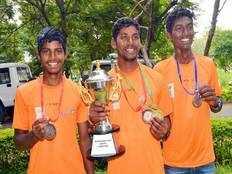 local lads masti saibaba gautham kankatla and koteshwar rao emerge champions from telangana state