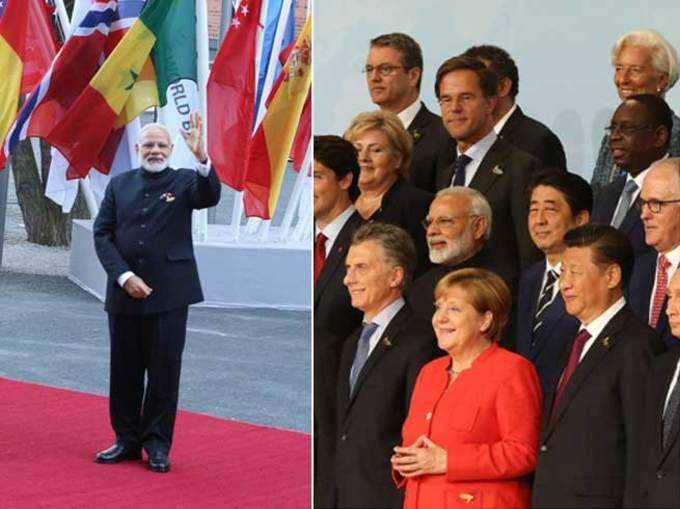 जी २० परिषदेत भारताचा प्रभाव