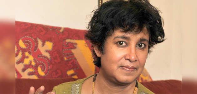 औरंगाबाद एयरपोर्ट पर AIMIM विधायक के नेतृत्व में तसलीमा नसरीन का विरोध, बैरंग हुईं वापस