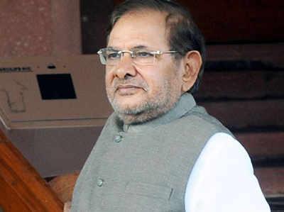 राजनीतिक हालात पर विचार कर रहे हैं शरद यादव