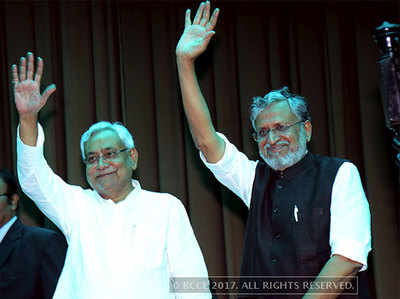 कांग्रेस के 9 विधायक BJP-JDU के संपर्क में