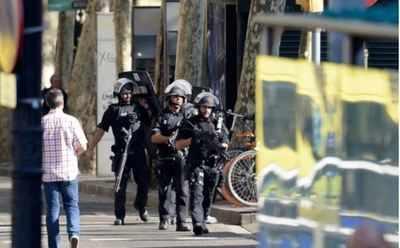 barcelona attack police