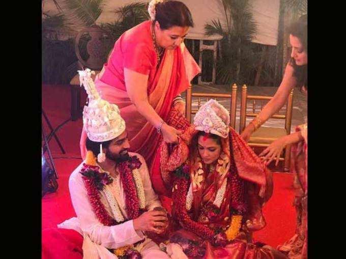 रिया सेन अडकली विवाह बंधनात