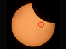 viral content watch international space station passing by total solar eclipse
