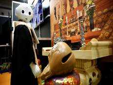 robot priest launched in japan