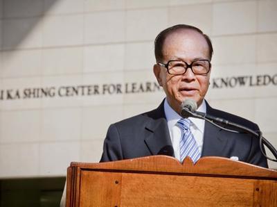 हॉन्ग कॉन्ग के अरबपति उद्यमी ली का-शिंग।