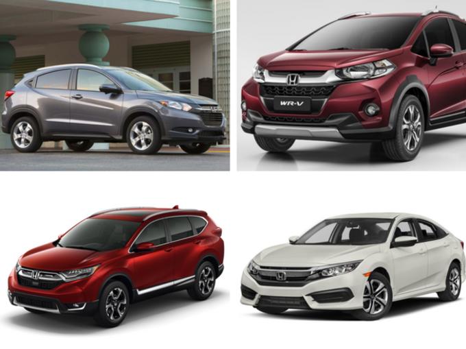 2017-18 तक होंडा की ये कारें भारत में होनी हैं लॉन्च