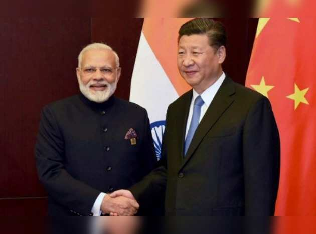 Modi Jinping meeting