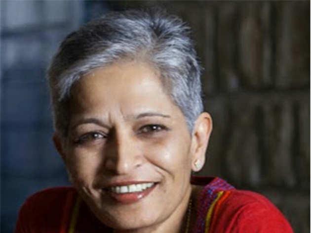 वह चर्चित कन्नड़ टैब्लॉइड लंकेश पत्रिके की संपादक भी थीं