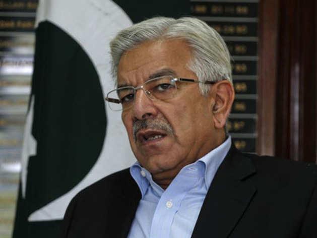 पाकिस्तान के विदेश मंत्री ख्वाजा आसिफ (फाइल फोटो)