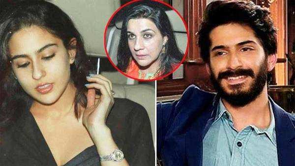 did amrita singh warn daughter sara to stay away from harshvardhan