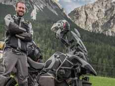 meet tim burke to travel the world on a bmw r 1200 gs