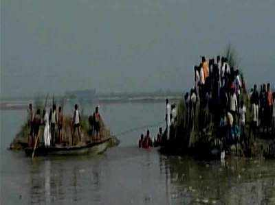 बागपत: यात्रियों से भरी नाव यमुना में पलटी, 20 की मौत