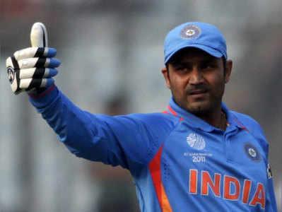 पूर्व क्रिकेटर वीरेंद्र सहवाग।