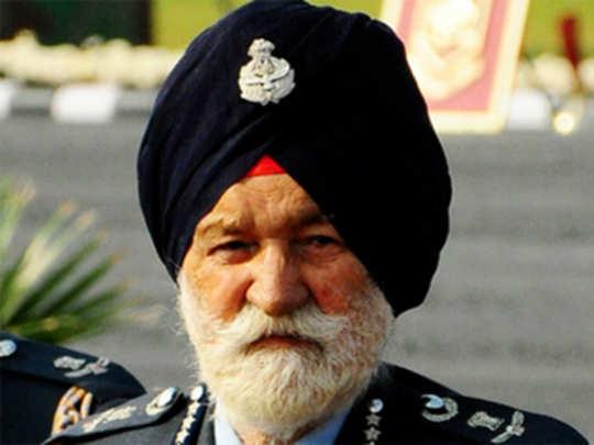 मार्शल अर्जन सिंह चिंताजनक
