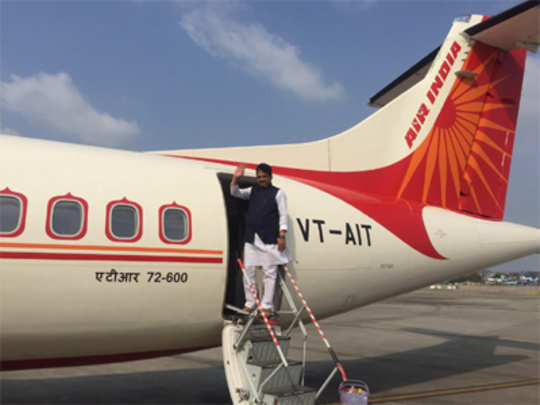 मुंबई-शिर्डी विमानाची यशस्वी चाचणी
