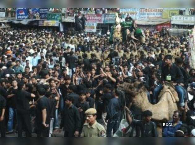 Muharram rally in Hyderabad