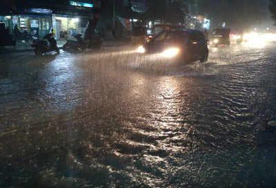 Heavy Rains in Hyderabad