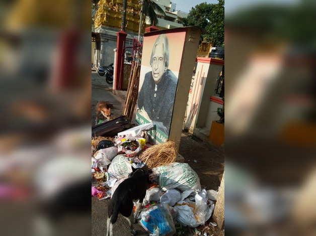 waste infront APJ Kalam