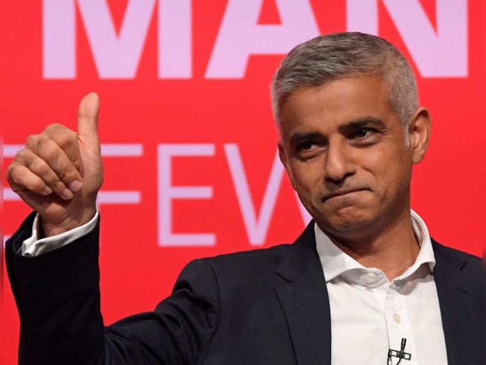 लंदन के मेयर सादिक खान