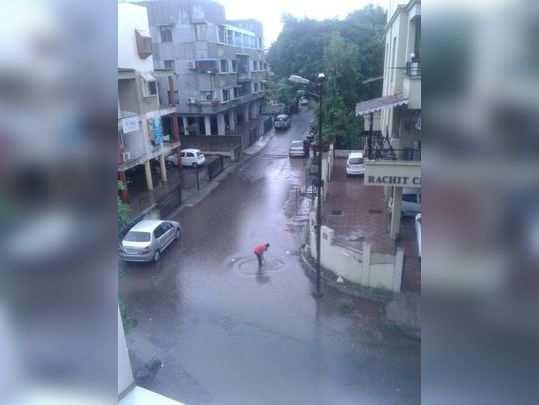 at college road high rain problem