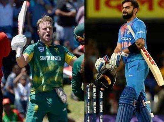 द. आफ्रिका आणि डिविलियर्स वनडेत नंबर वन