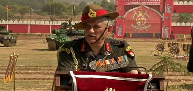 जम्मू-कश्मीर में चोटी कटने की घटनाएं सेना के लिए नहीं बड़ी चुनौती: जनरल बिपिन रावत