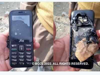 Reliance Jio feature phone explosion