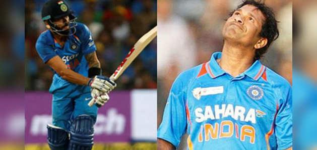 सचिन को पछाड़ कर वनडे में नंबर 1 बने कोहली