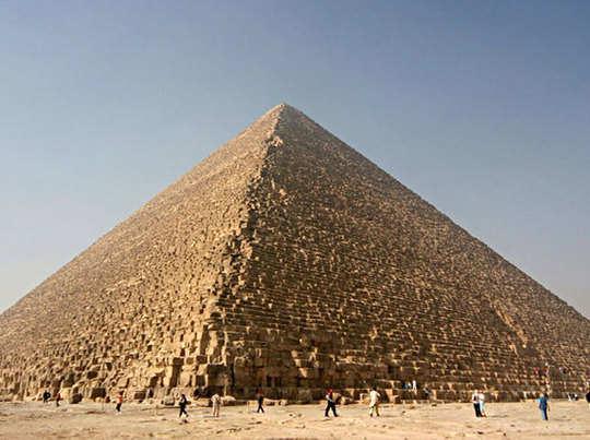 ग्रेट पिरामिड में नई खोज
