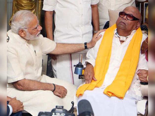 Modi_Karunanidhi