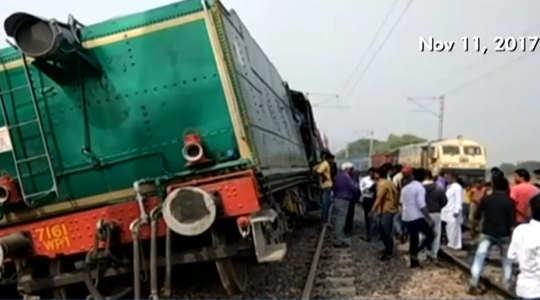 Steam engine runs 2 kms without driver, derails