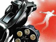 army man shot 14 times playing with kids in jhajjar haryana